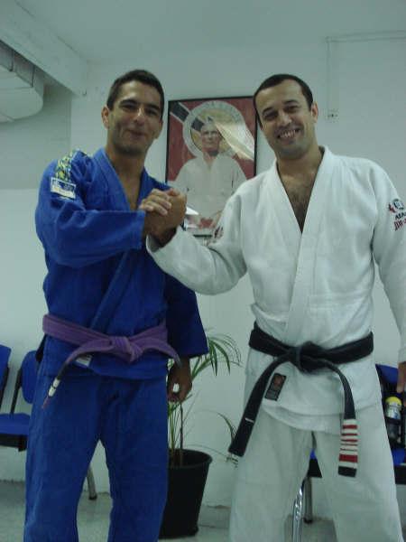 Robin Gracie con ALessandro